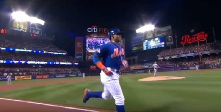 Yoenis Cespedes hits home run for New York Mets