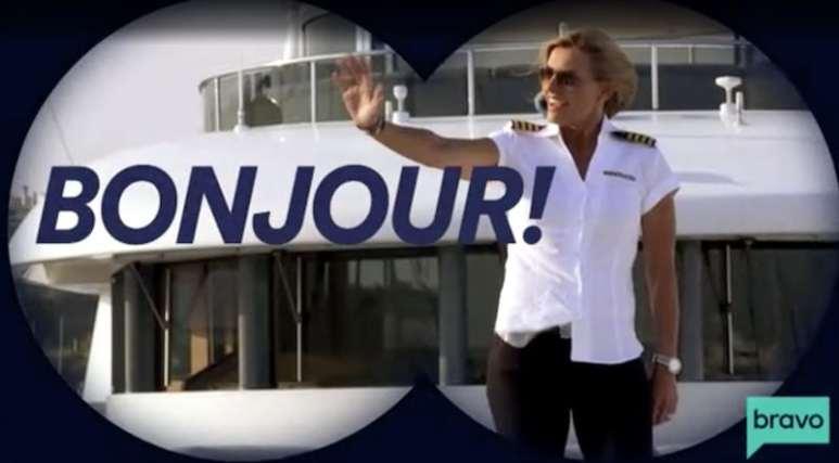 Captain Sandy in a teaser for Below Deck Med Season 4