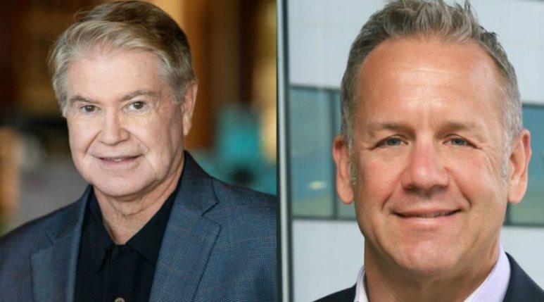 Headshots of John Hendricks and Clint Stinchcomb