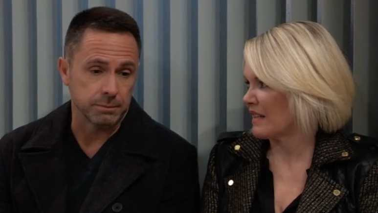 Julian and Ava talking on General Hospital