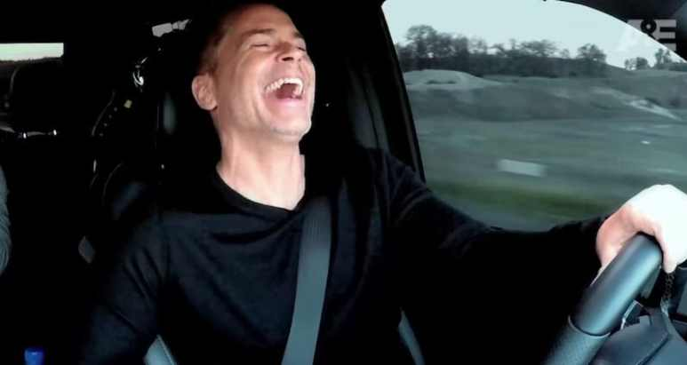 Rob Lowe in footage from The Lowe Files