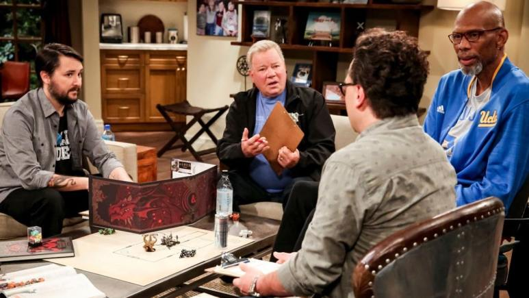 Wil Wheaton, William Shatner and Kareem Abdul-Jabbar on The Big Bang Theory