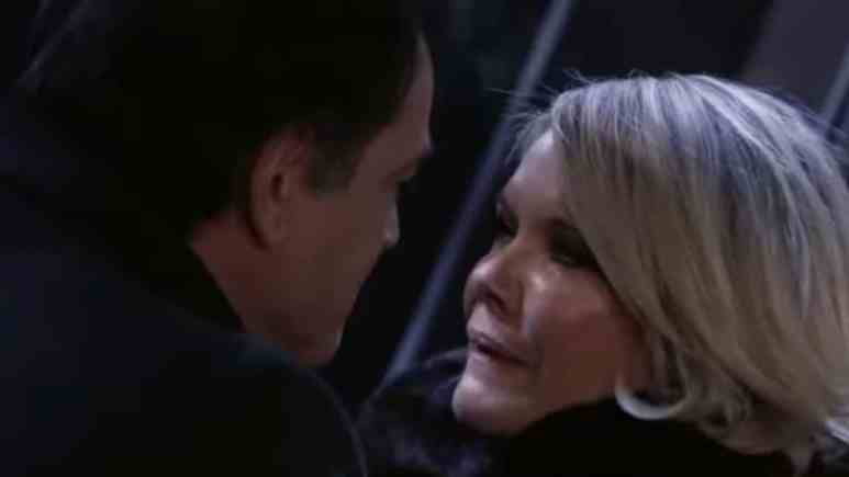 Jon Lindstrom and Maura West as Ryan Chamberlain and Ava Jerome on General Hospital