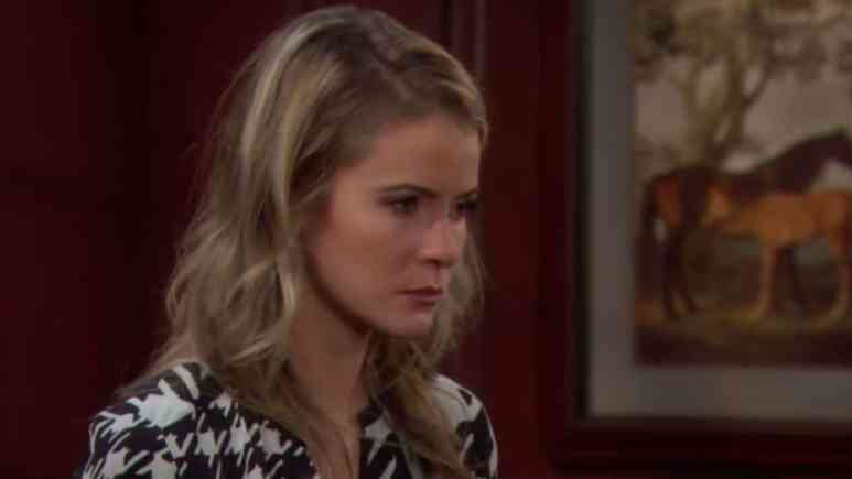 Linsey Godfrey as Caroline Spencer on The Bold and the Beautiful