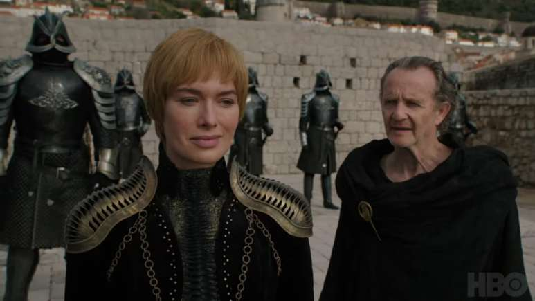 Cersei readies for battle on Game of Thrones