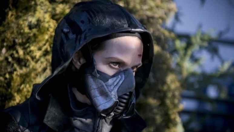 Sarah Carter as Grace Gibbons/Cicada on The Flash.