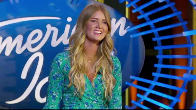 Johanna Jones at the American Idol auditions