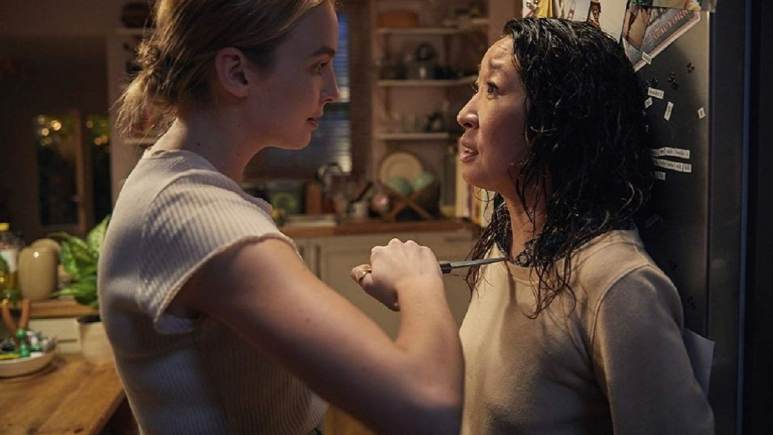 Sarah Oh and Jodie Comer in Killing Eve