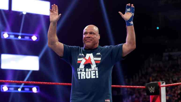 Kurt Angle hints at what he plans to do following his WrestleMania 35 retirement match, will reveal his opponent next week