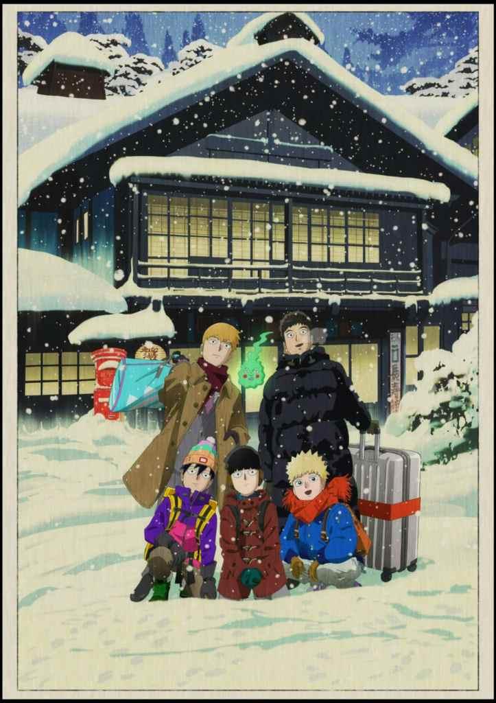 Mob Psycho 100 OVA 2 Key Visual Art