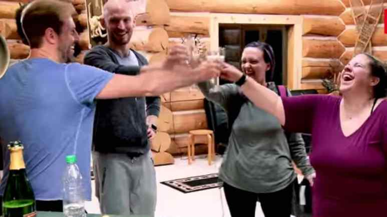 Todd, Tal, Heather, and Whitney in Alaska on My Big Fat Fabulous Life