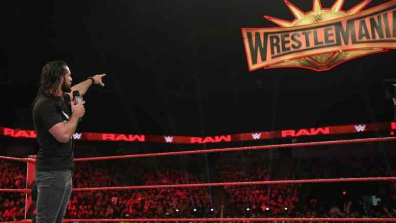 Seth Rollins gives thoughts on WWE passing him over for WrestleMania 35 main event for the Raw women's title match