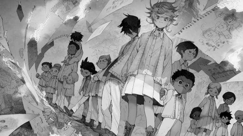 The Promised Neverland Manga Characters Emma Ray Children