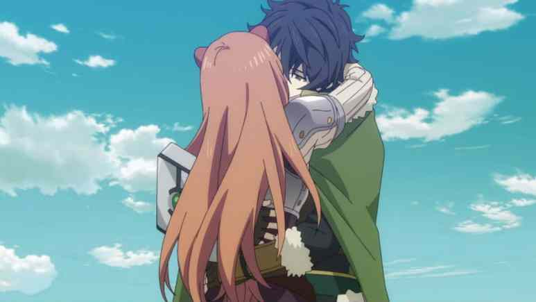 The Rising Of The Shield Hero Anime Naofumi Raphtalia Kissing
