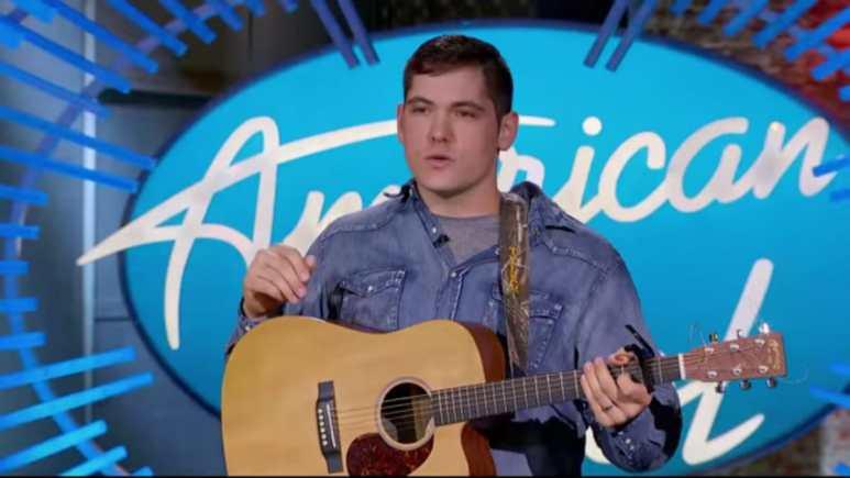 Tyler Mitchell on American Idol