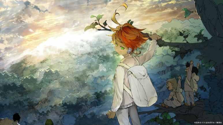 Yakusoku no Neverland artwork