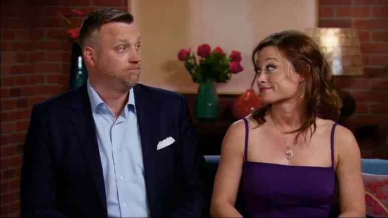 AJ Vollmoeller and Stephanie Serson on Married at First Sight Season 8