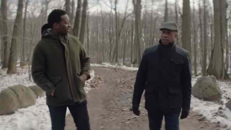 Brandon Michael Hall and Joe Morton as Miles and Arthur Finer on God Friended Me
