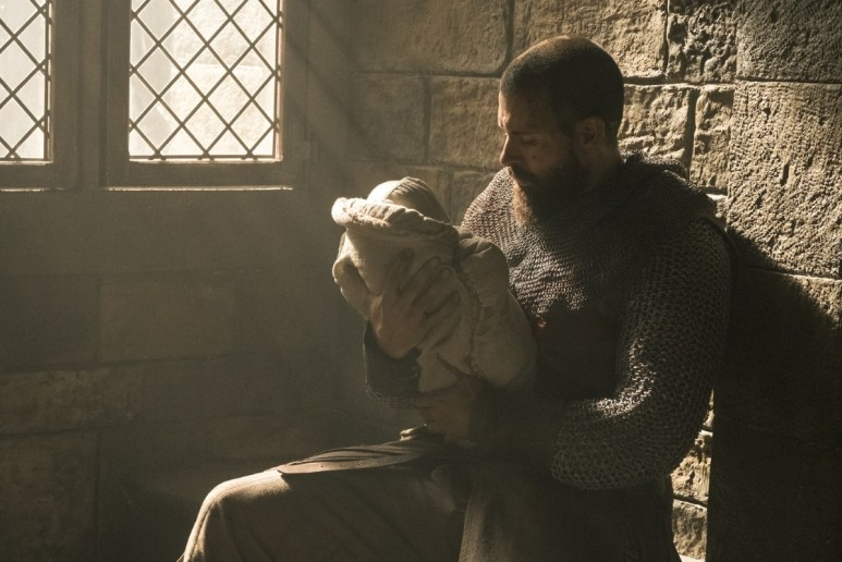 History Channel's 'Knightfall,' Season 2, Episode 6, Blood Drenched Stone, Tom Cullen stars as Landry