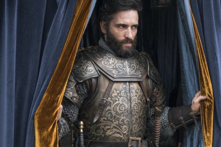 History Channel's 'Knightfall,' Season 2, Episode 6, Blood Drenched Stone, Ed Stoppard stars as King Philip