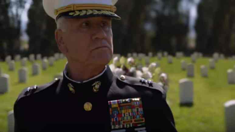 Garrett M. Brown as Marine General James Wallace on NCIS cast