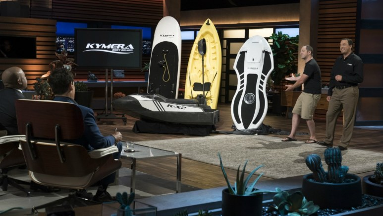 Jason Woods and Adam Majewski return to Shark Tank representing Kymera