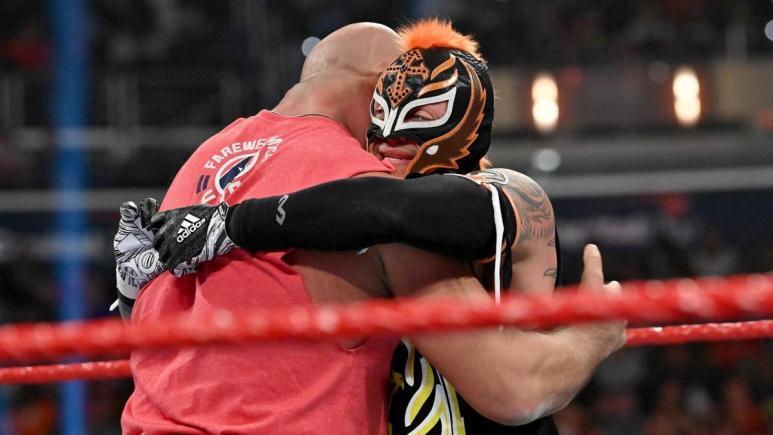 Rey Mysterio injured heading into WrestleMania 35 title match