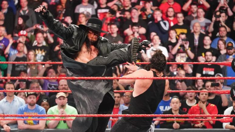 Undertaker signs new contract with WWE