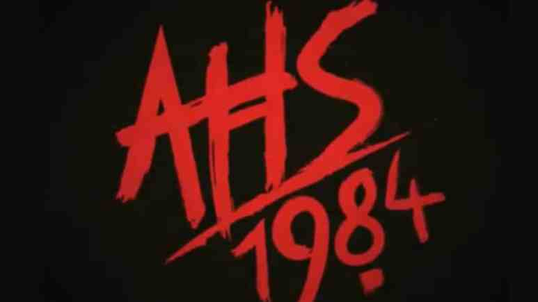 The new American Horror Story theme is 1984