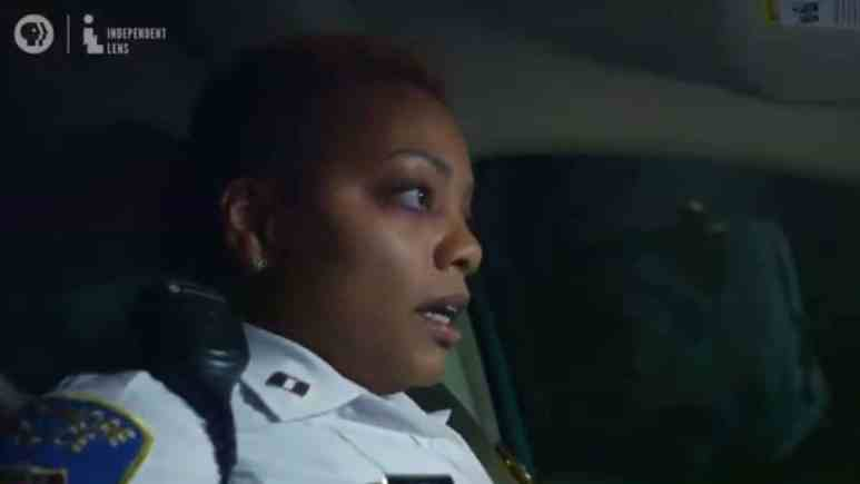 Officer Brown details her own backstory in our exclusive clip