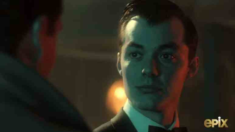 Pennyworth doesn't realize how meaningful his meeting with Thomas Wayne wil be. Pic credit: EPIX