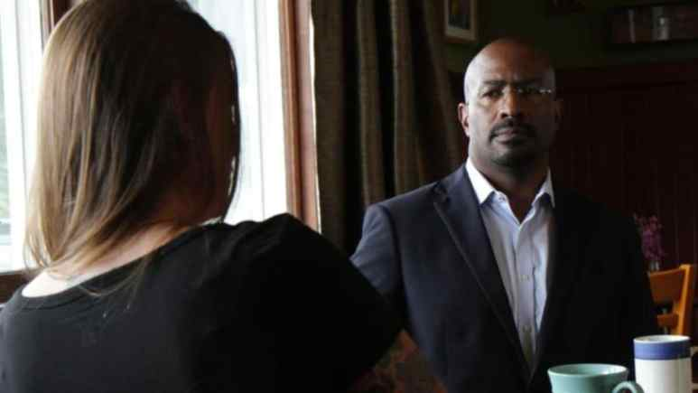 Van Jones pairs victims of crimes and their perpetrators in a groundbreaking new TV series on CNN. Pic credit: CNN