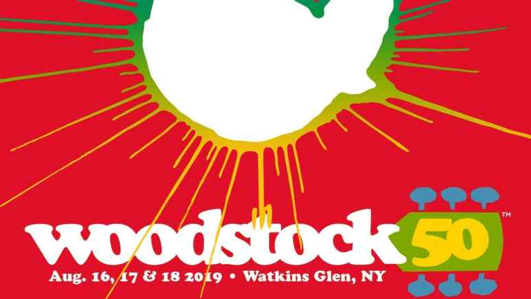 Woodstock 50 poster