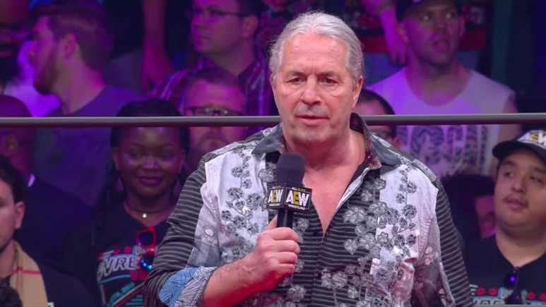 Bret 'The Hitman' Hart shows up at AEW Double or Nothing