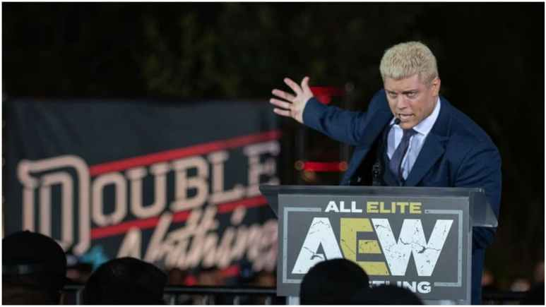 Cody Rhodes announces AEW Double or Nothing