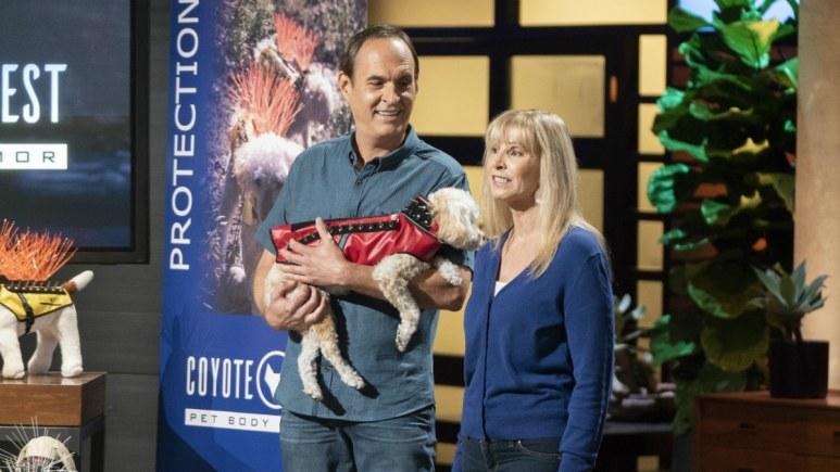 Paul Mott and Pamela Mott present Coyote Vest on Shark Tank
