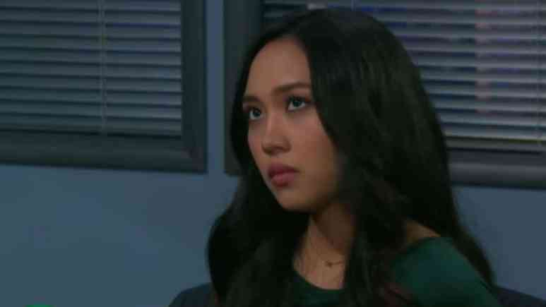 Thia Megia as Haley on Days of our Lives.