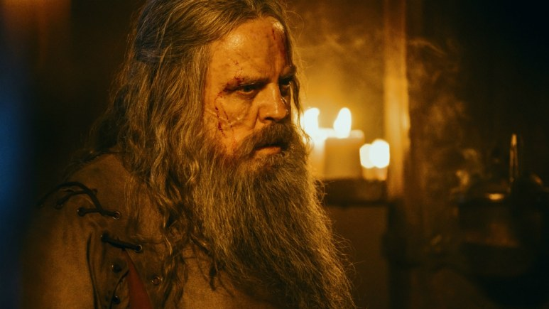 Talus, as he appears in Episode 1 of Knightfall Season 2