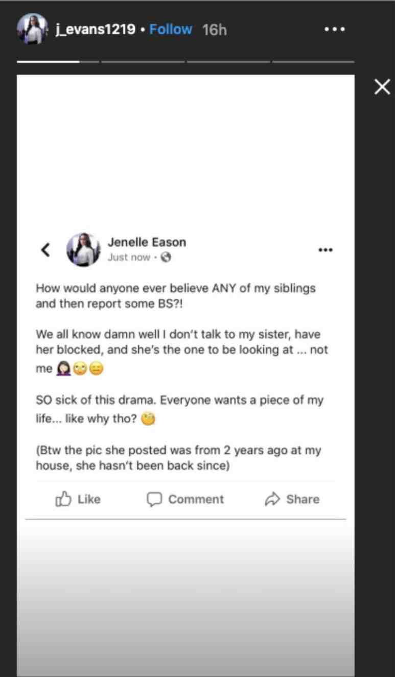 Jenelle Evans Instagram