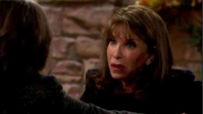 Kate Linder as Esther Valentine on The Young and the Restless.