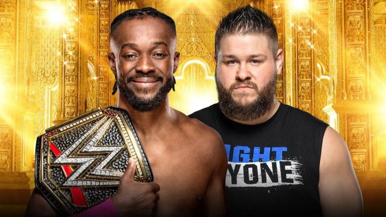 WWE Champion Kofi Kingston vs. Kevin Owens