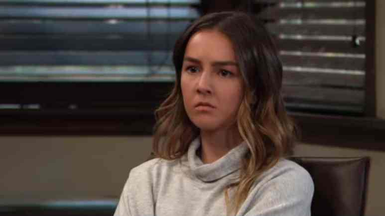 Lexi Ainswroth as Kristina on General Hospital.