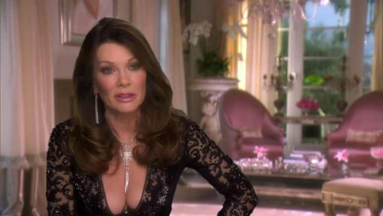 Lisa Vanderpump from The Real Housewives of Beverly Hills.