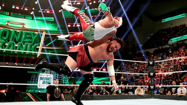 WWE Money in the Bank title match cut short due to an injury