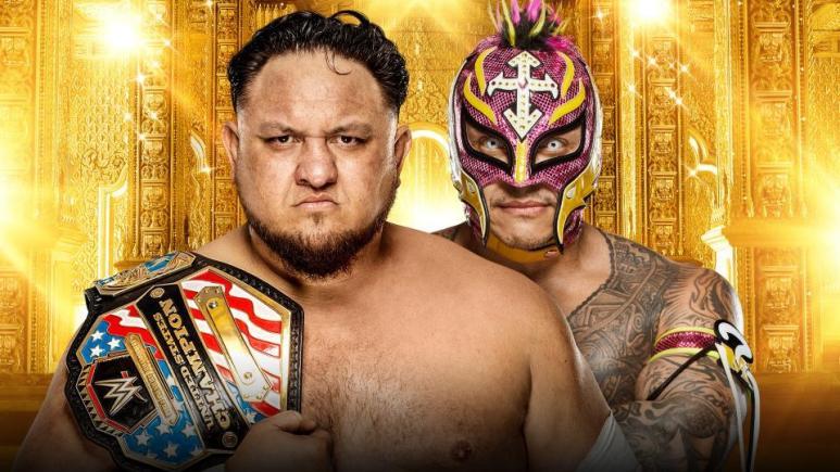 United States Champion Samoa Joe vs. Rey Mysterio