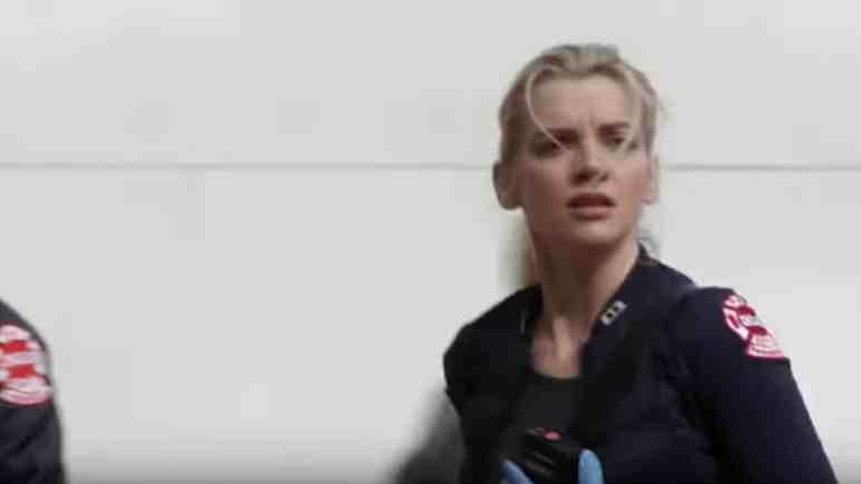 Kara Killmer as Sylvie Brett on Chicago Fire cast