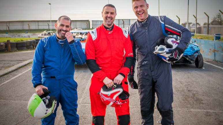 Chris Harris, Paddy McGuinness, and Freddie Flintoff are heading to BBC America for the new Top Gear. Pic credit; BBC America