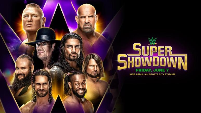 Goldberg opponent named for WWE Super Showdown in Saudi Arabia.