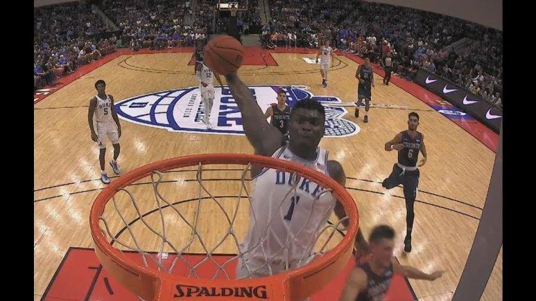 Zion Williamson has the NBA talking.
