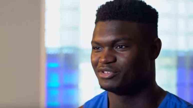 Zion Williamson has left Duke to enter the 2019 NBA Draft
